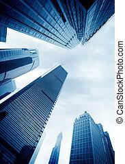 office buildings - Metropolis of Shanghai's modern office...