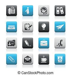 Office & Business / Matte Buttons
