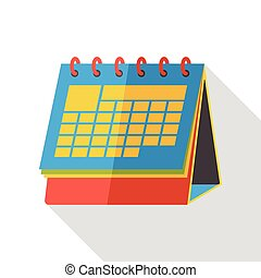 office calendar flat icon