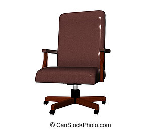Office Chair - Isolated office chair