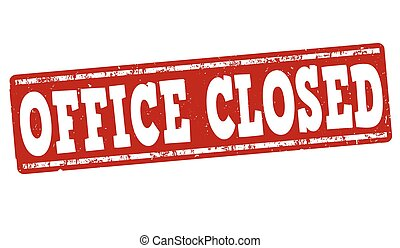 office is closed