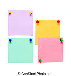 Office Color paper pin