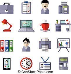 Office Colored Icon Set