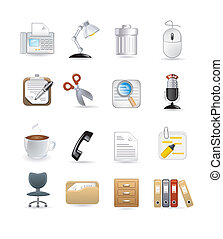 office computer icons