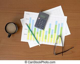 Office Equipment on the Desk