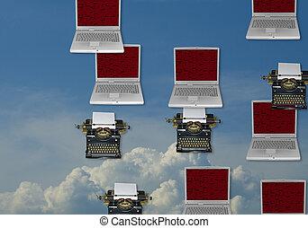 Office equipment - typewriter, laptop,.. what is next?