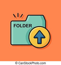 office files folder icon