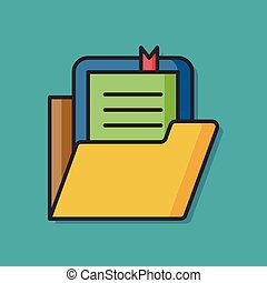 office files paper icon