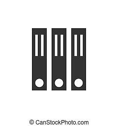 office folder vector design template illustration
