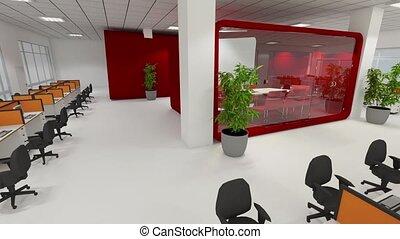 Office - Open office animation