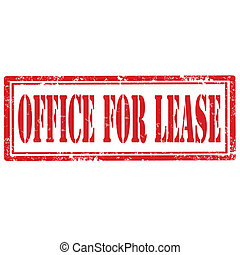 Office For Lease-stamp