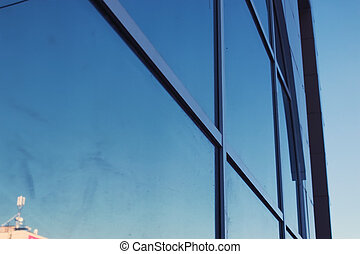 office glass building