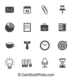 Office Icons Gray