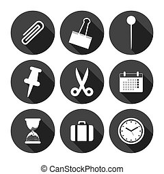 Office Icons Monochrome Series