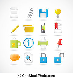 Office Icons Series Set