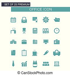 Office icons set