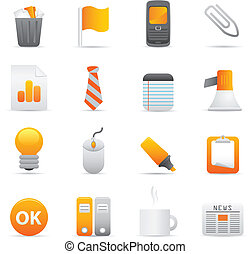 Office Icons | Yellow 10