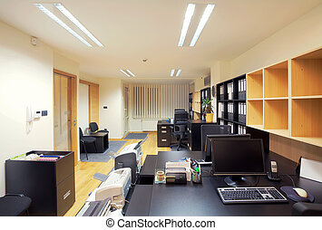 Office interior - Interior of an office, modern design, ...