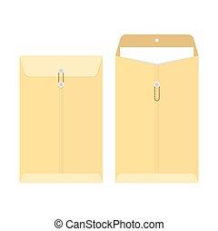 office manila envelope