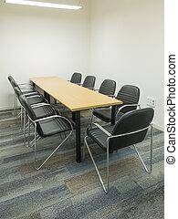Office meeting room.