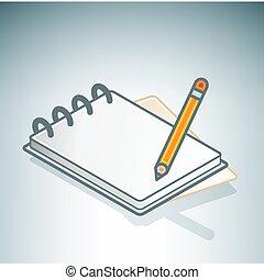 Office Notebook & Pen