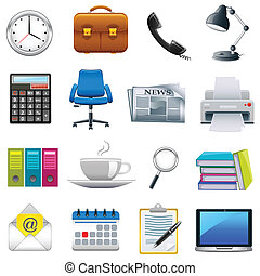 Office Object - easy to edit vector illustration of office...