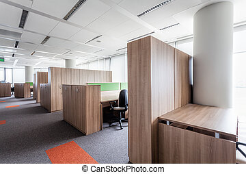 Office of a corporation - Interior of a corporation offices,...