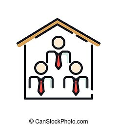 office organization icon color