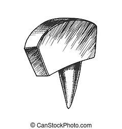 Office Stationery Thumbtack Push Pin Tool