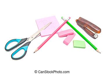 office supplies close-up