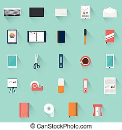 Office supplies objects