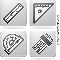 Office Supply Icons Set (part of the Platinum Squared 2D ...