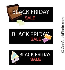Office Supply on Black Friday Sale Banner