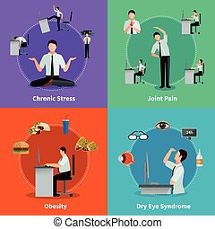 Office Syndrome 2x2 Design Concept - Office syndrome 2x2...