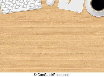 Top office table cup Tablet Office Table With Gadgets Top Office Table With Cup Can Stock Photo Office Table With Gadgets Top Office Table With Papers And Pen