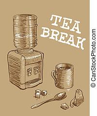 Office Tea Break