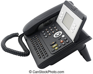 Office telephone set, 6 soft keys