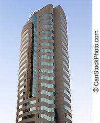 Office Tower - Tall building in Dubai.