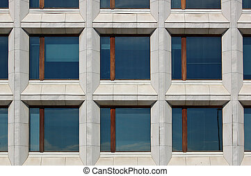 Office windows - Windows on a Helsinki office block