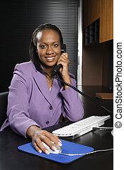 Office woman.
