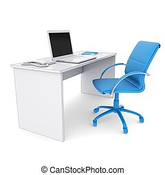 Büroarbeitsplatz clipart  Workplace Clipart and Stock Illustrations. 47,541 Workplace vector ...