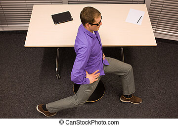 office relaxation. Office Yoga Relaxation
