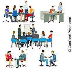 office.eps, ミーティング, コース