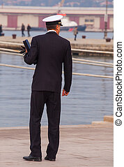 Officer of Italian navy