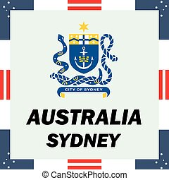 Official government elements of Australia - Sydney