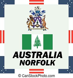 Official government elements of Australia - Norfolk