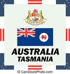 Official government elements of Australia - Tasmania