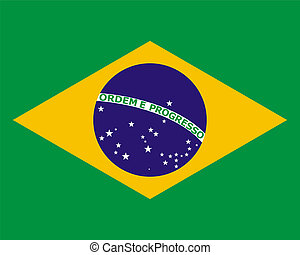 official national flag of Brazil