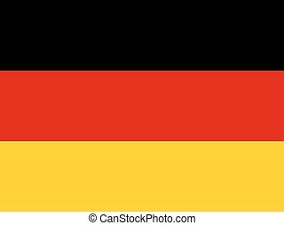 Official national flag of Germany background