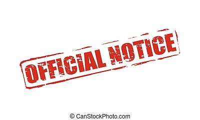 Official notice